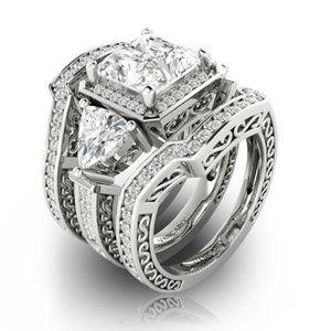 Jewelry - 🔷Mix&Match SALES Gorgeous 3 Pc Wedding Ring Set
